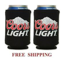 COORS LIGHT MOUNTAINS 2 BEER CAN HOLDERS COOLER COOZIE COOLIE KOOZIE HUGGIE NEW