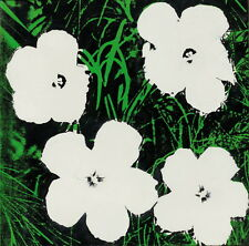 Andy Warhol Flowers Giclee Canvas Print Paintings Poster Reproduction Copy