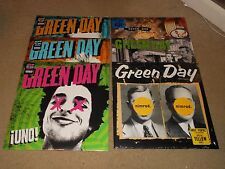 Green Day  Uno Dos Tre Insomniac Nimrod Warning colored vinyl Sealed