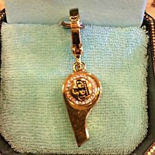 VERY RARE JUICY COUTURE 2006 WHISTLE CHARM YJRU0677 TAGGED BOX!