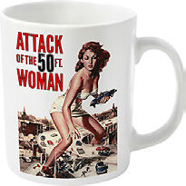 Plan 9 - Attack Of The 50ft Woman Mug Tasse PHM