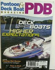 Pontoon Deck & Boat September 2016 10 Must See Deck Boats FREE SHIPPING