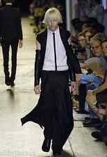 DIOR HOMME SS07 Runway Silk Silhouette Belt Buckle Wrap Skirt