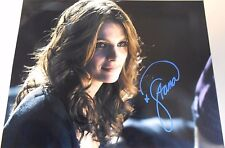 "STANA KATIC  ""CASTLE"" HOT PHOTO!   HAND SIGNED  8.5  X 11  W/COA"