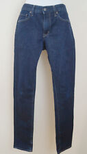 UNIQLO Women's Navy Blue Skinny Tapered Low Rise Jeans Sz:28 x 34