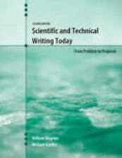 Scientific and Technical Writing Today: From Problem to Proposal