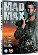 MAD MAX Trilogy Complete Movie DVD Collection Boxset Part 1 2 3 All Films