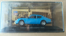 "DIE CAST "" SIMCA CG 1300 COUPE' - 1973 "" SIMCA COLLECTION  SCALA 1/43"
