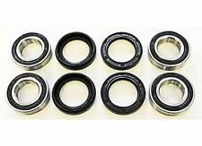 1990 1991 1992 YAMAHA YFM350 350 BIG BEAR 4X4 FRONT WHEEL BEARINGS AND SEALS X2