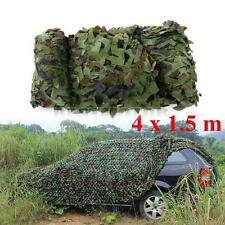 13FTx5FT Woodland Shooting Hide Army Camouflage Net Hunt Camp Camo Netting US