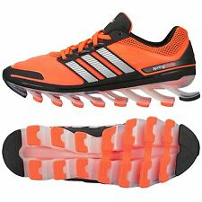 ADIDAS SPRINGBLADE RUNNING SHOES MENS SIZE US 13 UK 12.5 EUR 48 BLACK RED G66971