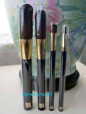 4pc Estee Lauder Blue Brush Set ~Powder Blush Eye Lip~