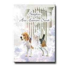 Beagle Heaven Sent Fridge Magnet Love