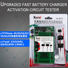 UK K9202 Battery Charger Activation Tester for iPhone 4/5/6/6s iPad Air Mini 1/2