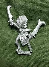 Warhammer Fantasy edad de Sigmar oscuro Elf Bruja Elfo-Metal-despojado