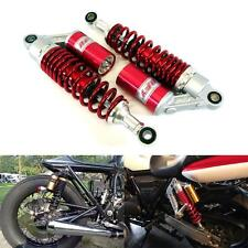 "12.5"" 320mm Rear Red Air Shock Absorbers Motorcycle CB KZ CX RD 400 XS 650 VMAX"