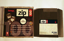 USED Iomega Zip 250MB PC formatted disks  - Checked