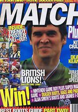 ROY KEANE / BRITISH LIONS / MARK WALTERS LIVERPOOL Match Jul 10 1993