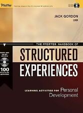 The Pfeiffer Handbook of Structured Experiences: Learning Activities f-ExLibrary