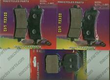 Ducati Disc Brake Pads Hypermotard 1100 EVO/SP 2010-2014 Front & Rear (3 sets)