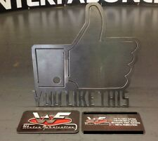 """You Like This"" Hitch Cover - Facebook - 1/8"" Steel - Tow Towing Reese Custom"