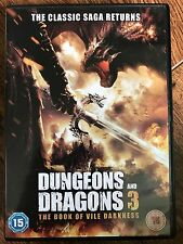 DUNGEONS AND DRAGONS 3: THE BOOK OF VILE DARKNESS | 2012 Fantasy Film | UK DVD
