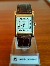 Sublime Cartier Tank Normale 18k YG. Rare Vintage Mechanical Watch