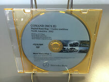 2005-2009 Mercedes C CL CLK G GL ML and R Class Navigation DVD V9.0 2012 Update