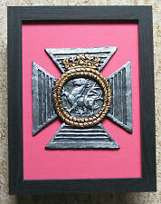 Large Scale Framed Duke of Edinburgh Royal Regiment Cap Badge Plaque