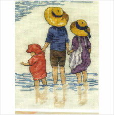 All Our Yesterdays Paddling Cross Stitch Kit - Limited Edition with Free Booklet