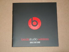 Manual User Guide for Beats by Dr. Dre Studio 2.0 Wireless Headphones - 10 pages