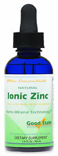 Liquid ionic zinc ultra concentrate - 10 drops equals 15mg - 100 servings