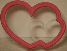 New Sweet Creations by Good Cook Double Heart Cookie Cutter Valentines