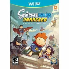Scribblenauts Unmasked: A DC Comics Adventure Game for Nintendo Wii U / USED
