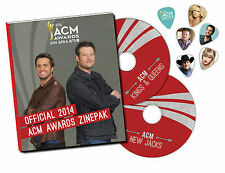 Official 2014 ACM Awards LIMITED ZinePak 2CD SET 30 Songs SWON BROTHERS Parmalee