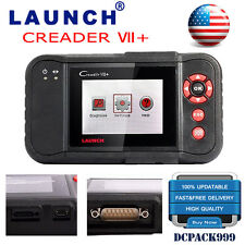 Launch X431 Creader VII+ 7+ CRP123 OBD2 Auto Diagnostic Tool Code Reader Scanner