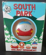 South Park Cartman Comedy Central Frosted Ball Ornament Christmas 1998 in Box