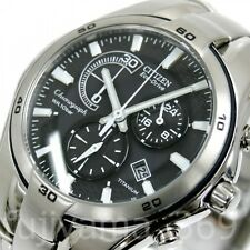 NEW CITIZEN ALTERNA VO10-5992F Eco-Drive Titanium 10ATM Watch Free/S from JAPAN