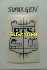 BTS Vest - kpop decal sticker / korean K-Pop (WHITE)