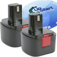 2x Battery for Lincoln 12V Grease Gun, 12V Power Luber