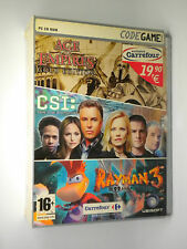 Rayman 3 CSI Age empires UBISOFT PC PLUS PACK