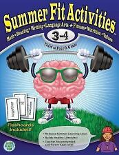 Summer Fit Third to Fourth Grade: Math, Reading, Writing, Language Arts + Fitne