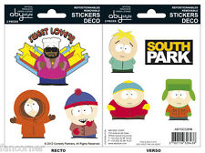 South Park Blister de 7 autocollants officiels South park official stickers lot