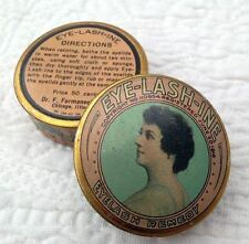 VINTAGE 1916 EYE-LASH-INE EYELASH REMEDY TIN DR F. FORMANECK CO. CHICAGO