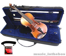 4/4 Student Antique Violin +Bow +Shoulder Rest + Square Case +Rosin +String Set