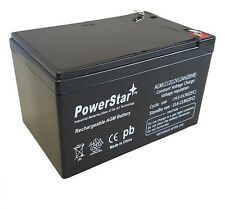 12V 12Ah F2 SEALED LEAD ACID DEEP-CYCLE RECHARGEABLE BATTERY