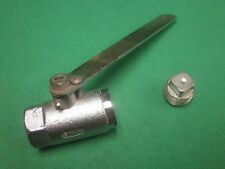 "1"" 800 WOG MALLEABLE IRON LEVER CAP BALL SHUT OFF VALVE"