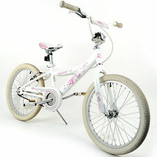 "K2 Windy 20"" Kids Children's Girls Bike // White/Pink"