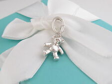 Tiffany & Co Silver Bear Charm For Necklace Or Bracelet