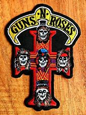 GUNS N' ROSES EMBROIDERED PATCH IRON ON or SEW Hard rock Heavy metal Blues